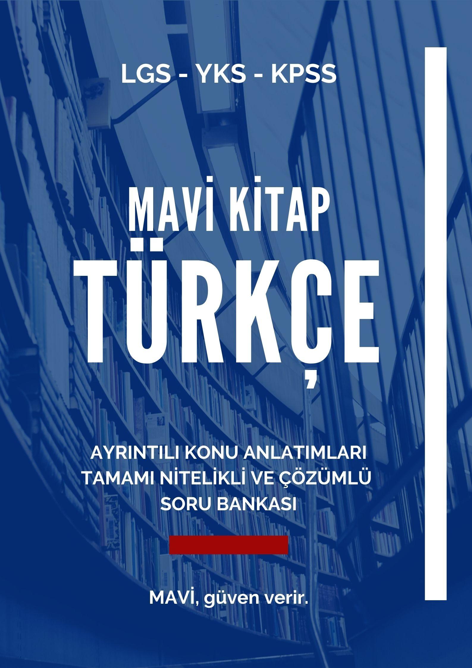 Mavi Kitap TÜRKÇE